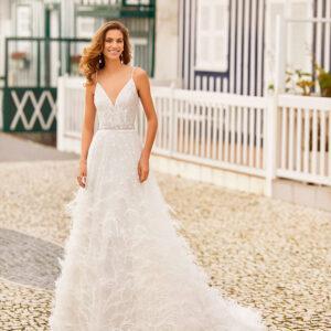 vestido de novia 2021 HILARY ROSA CLARA SOFT 1