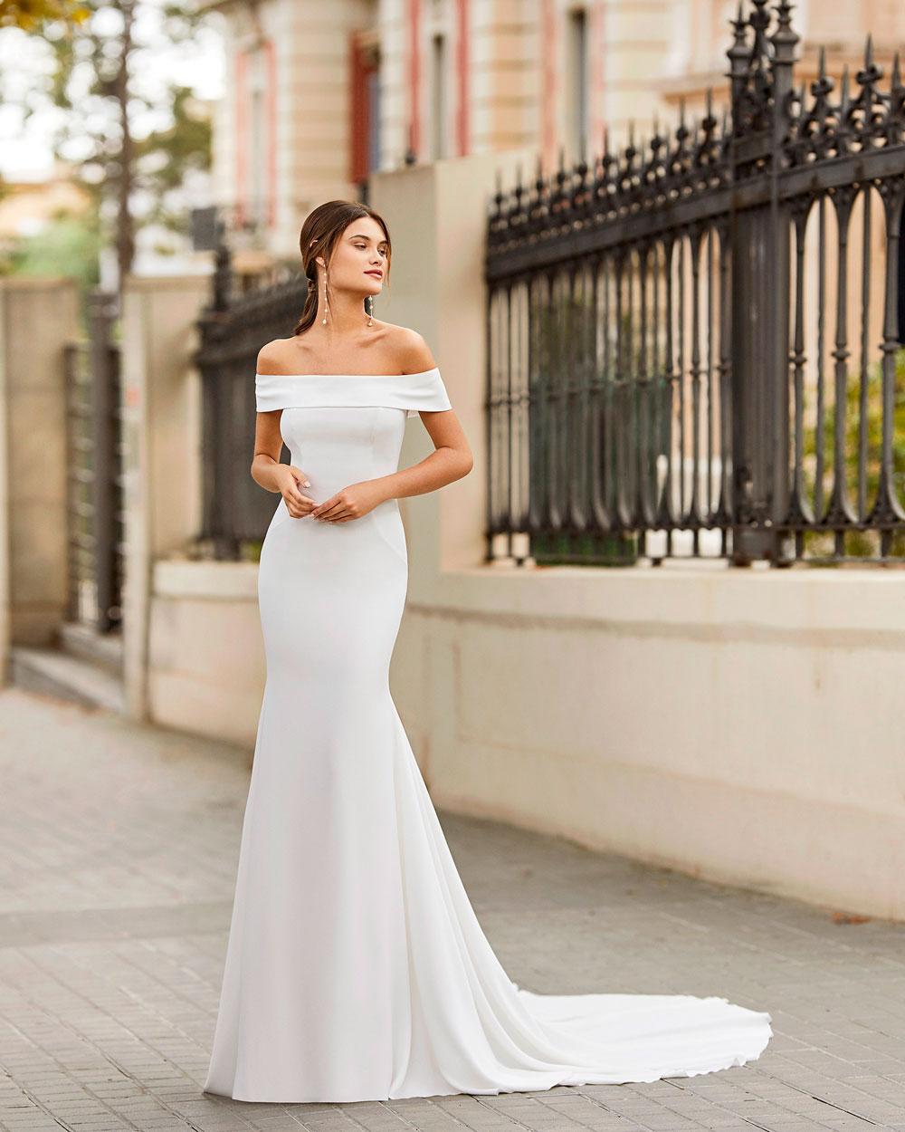 vestido de novia 2021 TAILAK ROSA CLARA 1