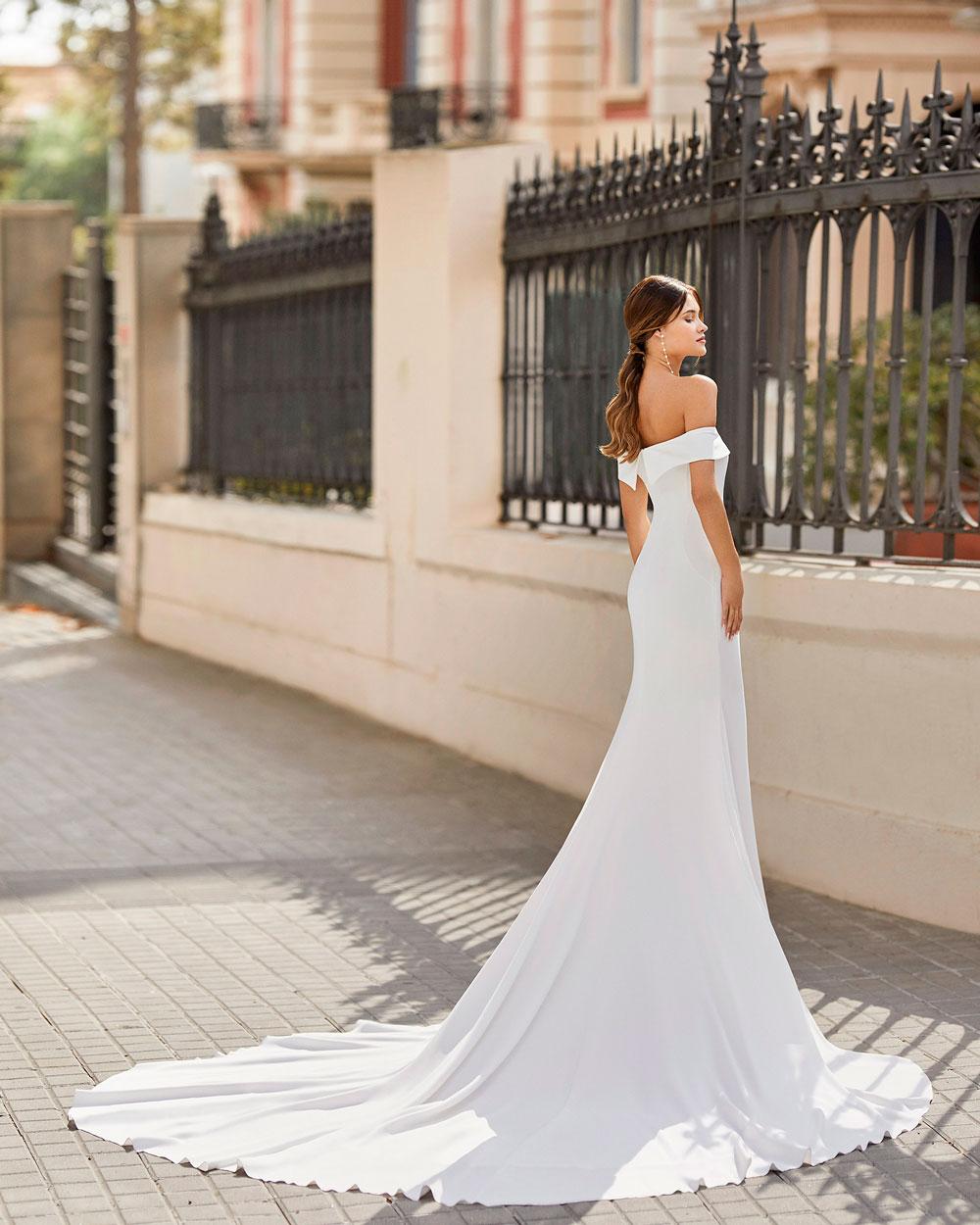 vestido de novia 2021 TAILAK ROSA CLARA 2