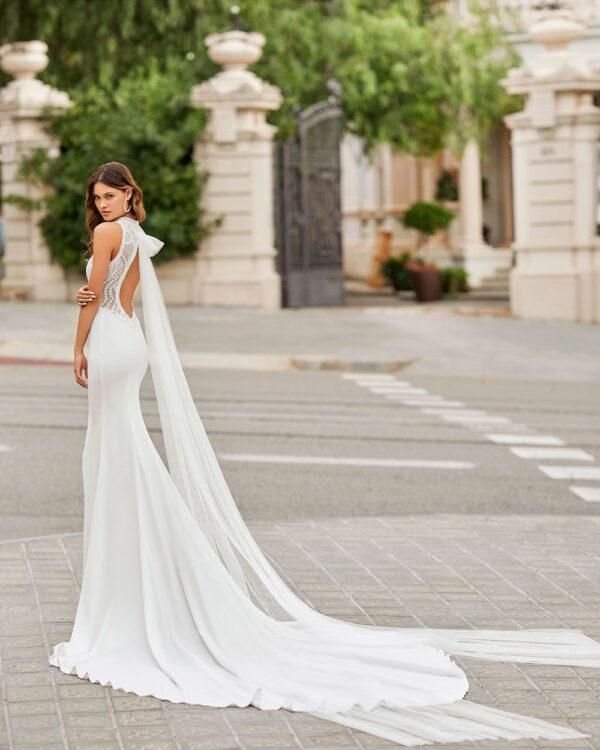 vestido de novia 2021 TAMESIS ROSA CLARA 1