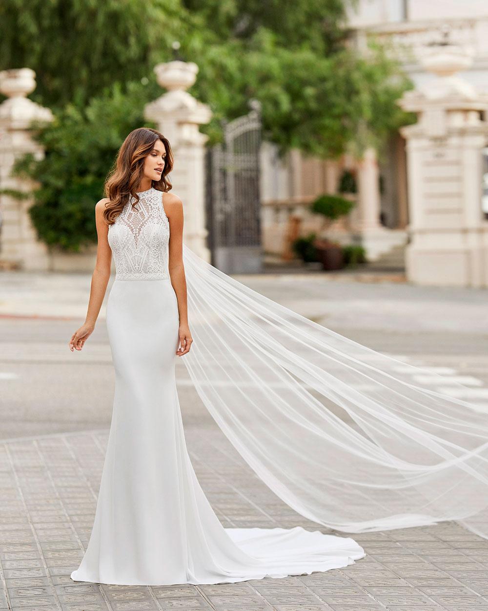 vestido de novia 2021 TAMESIS ROSA CLARA 2