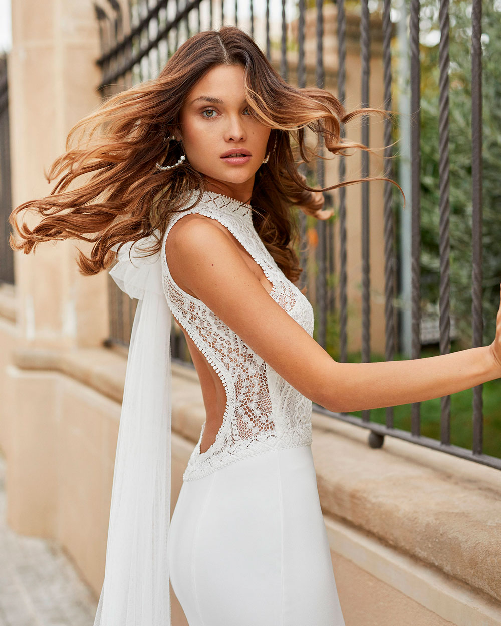 vestido de novia 2021 TAMESIS ROSA CLARA 3
