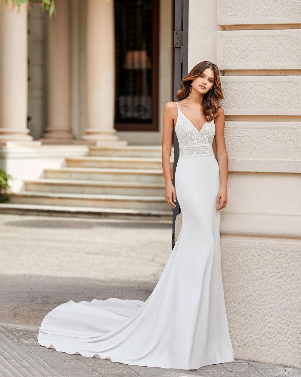 vestido de novia 2021 TANGO ROSA CLARA 1
