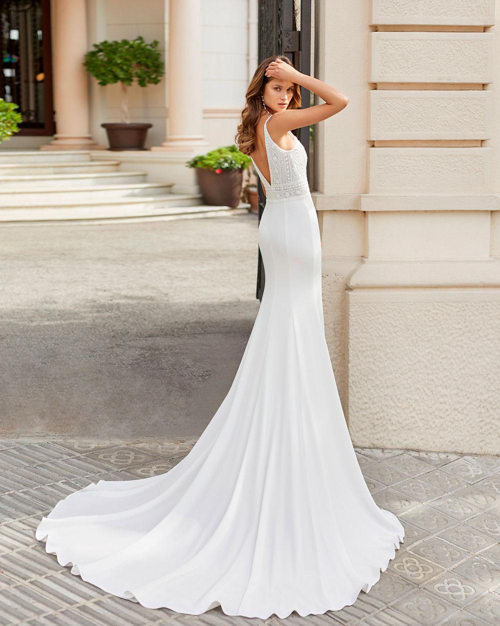 vestido de novia 2021 TANGO ROSA CLARA 3