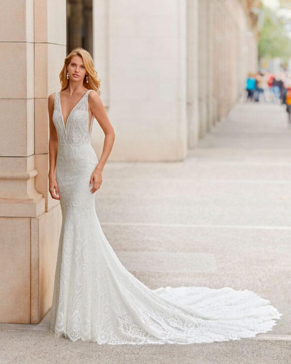 vestido de novia 2021 TATIANA ROSA CLARA 1