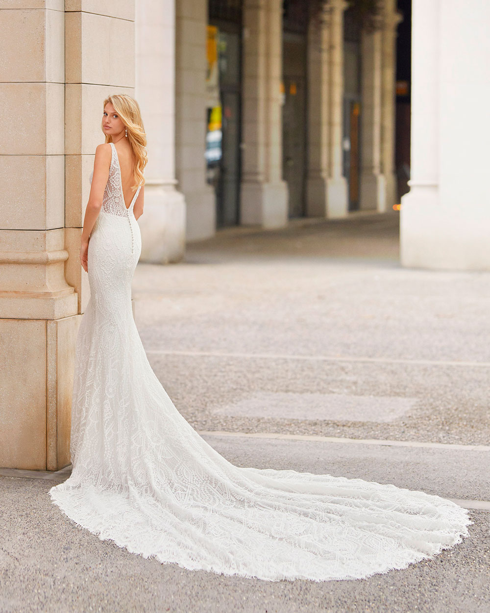 vestido de novia 2021 TATIANA ROSA CLARA 2