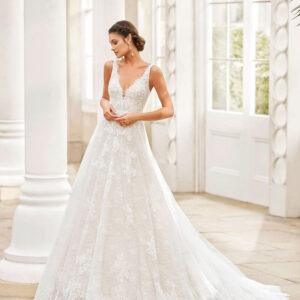 vestido de novia 2021 TERUEL ROSA CLARA 1