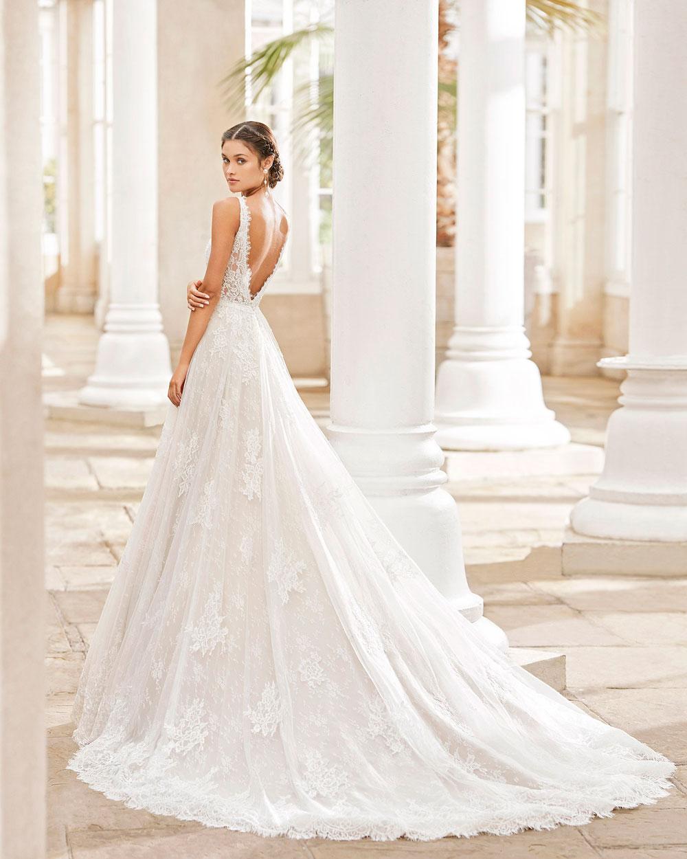 vestido de novia 2021 TERUEL ROSA CLARA 2