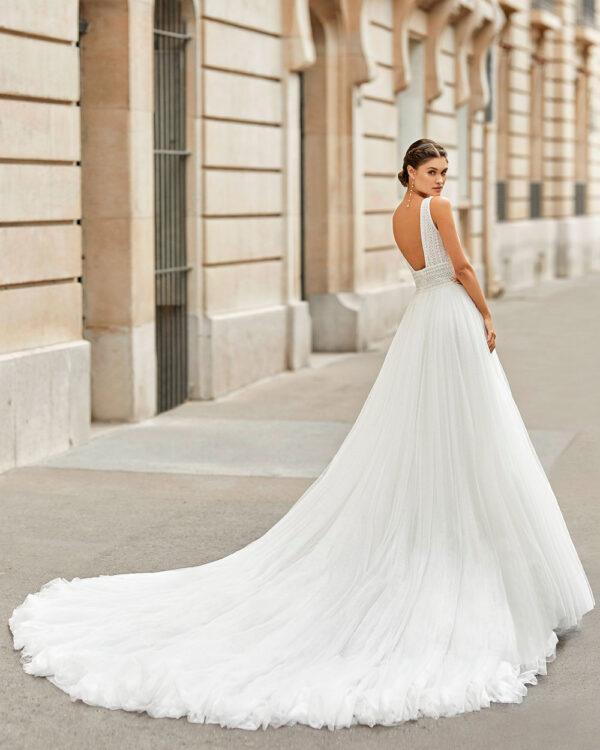 vestido de novia 2021 TINEK ROSA CLARA 1