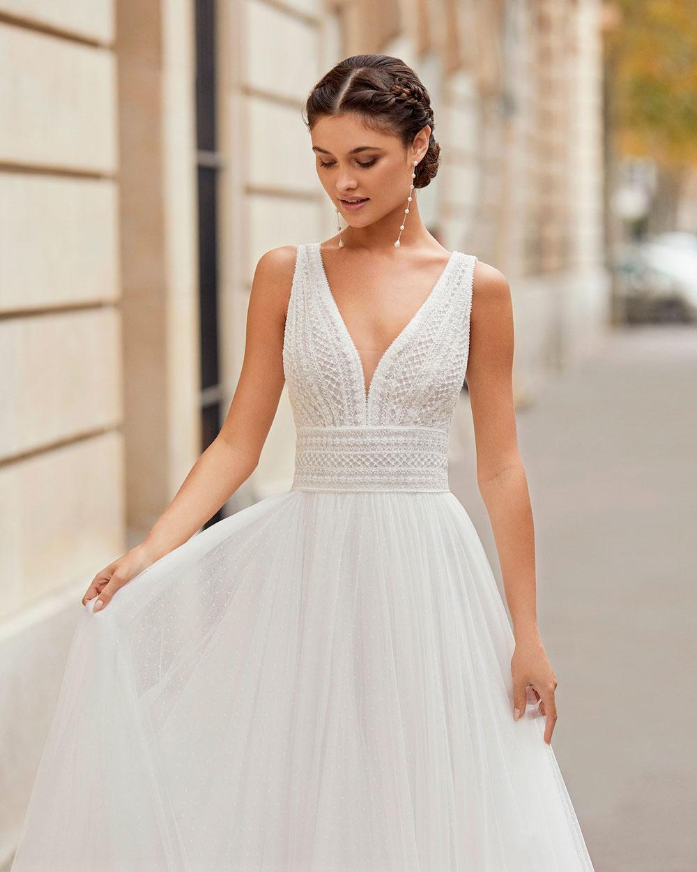 vestido de novia 2021 TINEK ROSA CLARA 2