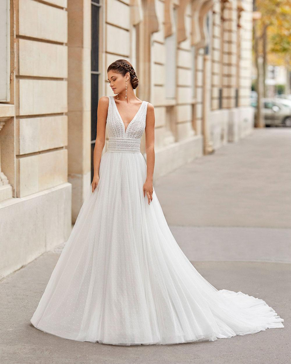 vestido de novia 2021 TINEK ROSA CLARA 3