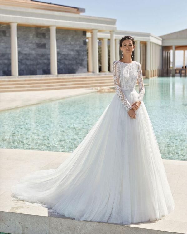 vestio de novia 2021 SEOUL ROSA CLARA COUTURE 1