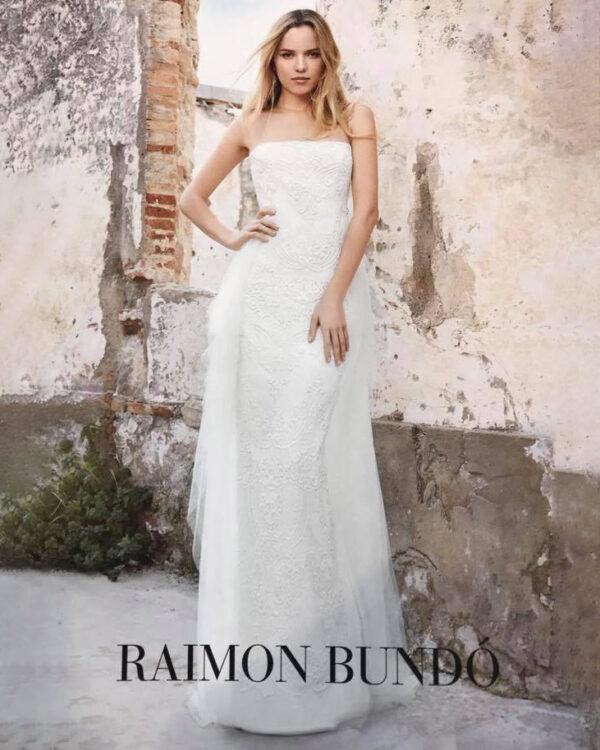 vestido novia raimon bundo exito