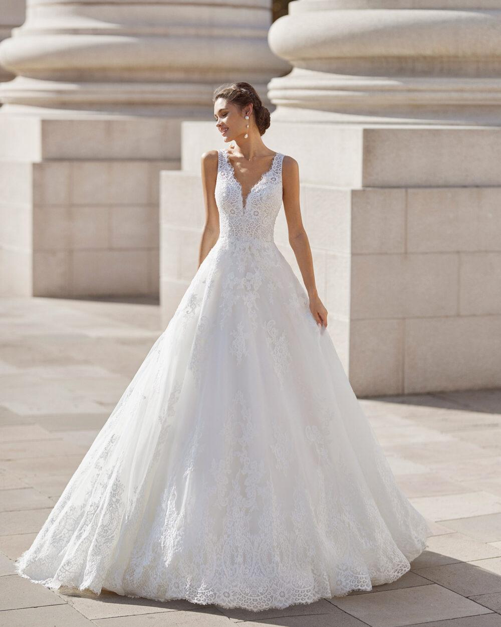 vestido novia modelo Nessa