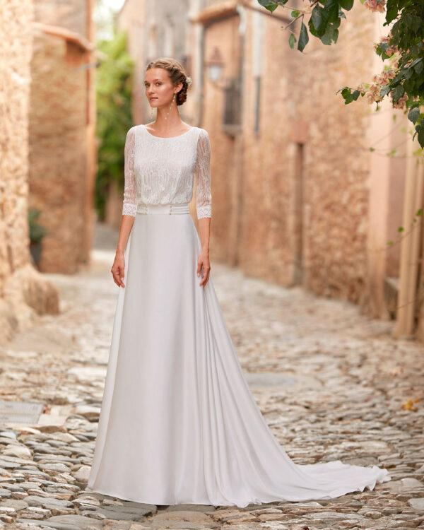 vestido novia Alma Novia Mandy